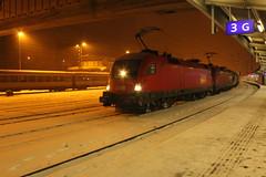 OBB 1116 en 1016 met korte goederentrein te Kufstein (vos.nathan) Tags: obb 1116 1016 taurus 266 017 österreichische bundesbahnen kufstein