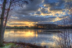 January Sunset (blavandmaster) Tags: perfect sky schnee 6d wolken nrw 24105 landscape janvier colours harmonic hückermoor beautiful pond countryside sonnenuntergang ostwestfalen wasser january photomatix handheld 2017 canon hdr januar ciel tyskland westfalen nuages water interesting processing awesome eau light germany allemagne christiankortum landschaft kreisherford duitsland hiver himmel snow deutschland clouds tree frost lake lac sunset lovely coucherdesoleil complete happy eos6d