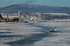 Cold Very Cold (langdon10) Tags: canada canon70d ice quebec shoreline stlawrenceriver tugboat cold nautical seaice winter