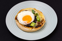 Australia day Vegemite and Coon (garydlum) Tags: egg belconnen springonion cheese friedegg cooncheese breadroll canberra vegemite eggs