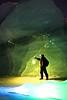 Exploring Sheridan Glacier (BlaisOne) Tags: light painting blaisone long exposure longexposure lightpainting lightjunkie lightartperformancephotography nightime dorcy green blue ice sheridan glacier cordova alaska