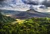 Gunung Batur (BüniD) Tags: vulkan vulcano batur bali indonesien indonesia sony a7 lava molten black clouds