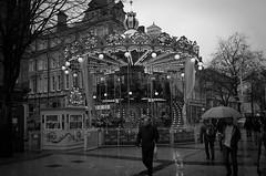 January Carousel (Neil Schofield) Tags: cardiff caerdydd wales cymru carousel street rain