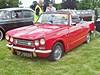 699 Triumph Vitesse 2 litre Mk.II Convertible (1970) (robertknight16) Tags: triumph british 1970s bl vitesse luton cpj662h