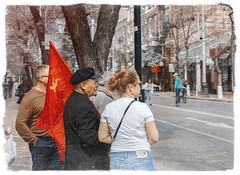 Comrade Lenin (sergtrav) Tags: lenin stalin street redflag ussr ленин сталин знамя ссср серпимолот comrade светлоебудущее