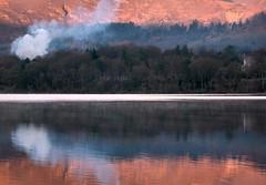 Human (plot19) Tags: sunrise sunset landscape light love lakedistrict lakes lake nikon north northwest northern now national smoke orange trees trust english england uk british britain plot19 photography