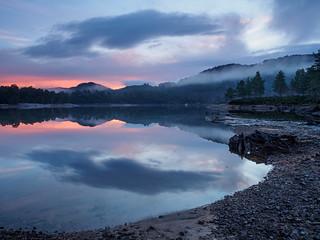 Loch Beinn a' Mheadhoin Sunrise Trip