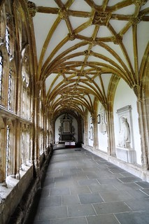 Cloisters at Wells Cathedral,
