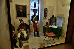 0676-20160521_Salon de Provence-Bouches du Rhone-France-Chateau de l'Emperi-Military Museum-display French army dress through time-15 of 17 (Nick Kaye) Tags: salondeprovence bouchesdurhone france europe city castle house museum