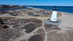 Edgartown Lighthouse, Martha's Vineyard (Chris Seufert) Tags: edgartown lights lighthouse aerial drone marthasvineyard massachusetts capecod