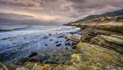 Point Loma Peninsula (danielledufour430) Tags: cliffs rockformations pacific westcoast california sandiego pointloma peninsula ocean water landscape hdr sonya6000 nature
