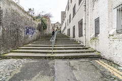 CROMWELL'S QUARTERS AT BOW BRIDGE DUBLIN [WAS MURDERING LANE OR MAYBE THE FORTY STEPS]-125500 (infomatique) Tags: cromwell'squarters bowbridge dublincitycentre murderinglane fortysteps cutthroatlane mountbrown roundheadrow streetphotography williammurphy infomatique streetsofdublin