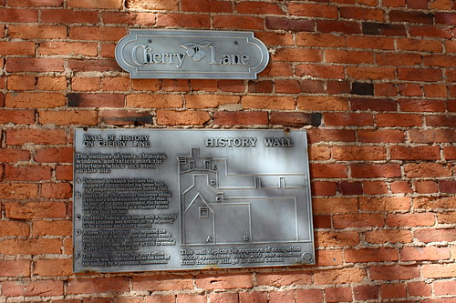York: Wall History of Cherry Lane