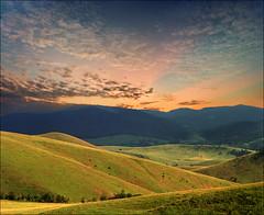 Rainbow evening (Katarina 2353) Tags: mountain landscape evening europe serbia zlatibor serbiainspired