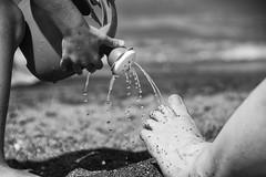Toscana 2015 (stesettantadue) Tags: original sea portrait blackandwhite italy white storm black beach toxic closeup clouds blackwhite play postcard tuscany toscana bianco photoart nero bianconero biancoenero bibbona rosignano etruschi