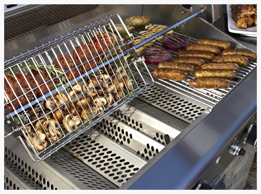 AOG optional rotisserie basket