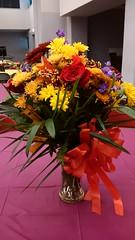 Flower Arrangements, Repast #1 (artistmac) Tags: city flowers roses urban plants chicago illinois wake flowerarrangements il funeral tribute carnations generalassembly staterepresentative repast esthergolar