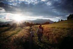 susnet (bass_nroll) Tags: light sunset people against canon october tramonto outdoor walk country mk2 5d monte serra ivrea controluce morena gregorio mkii ottobre piana canavese morenica burolo cicucarun