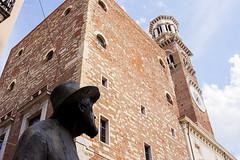 Verona 10 (.Kikaytete.QNK) Tags: italia erasmus verona palazzo estatua kikaytete