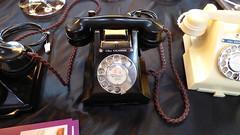 Miss Marple's phone at Eltham Palace Art Deco Fair 2015 (tedesco57) Tags: art 1212 telephone style nouveau deco whitehall