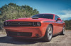1971 (hbmike2000) Tags: flickrfriday racing car dodge challenger 2015 rt hemi red sky outside dirt hotrod vehicle faded retro vintage hdr hbmike2000 nikon d810