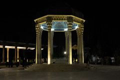 The Tomb of poet Hafez (Manolo E.) Tags: monument architecture iran tomb mausoleum poet shiraz hafez memorialhall irn fars hafezieh