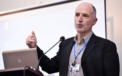 ISIF ASIA and FRIDA AWARDS 2012 .Paul Wilson, APNIC Director general to talk about the Seed Alliance .Event was held at the 7th Internet Governance Forum  (IGF) annual  meeting held at the Baku Expo E