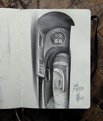 () Tags: pencil graphic sketchbook graphite kotor montengro