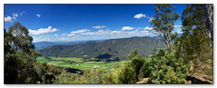 Powers Lookout (no. 2) panorama (Creative_Pixels (On/Off Busy)) Tags: park 2 panorama mountains alps nature beauty forest river landscape buffalo king native pano victorian parks australia victoria lookout mount explore alpine national valley eucalyptus peppermint iphone bushland regions feathertop 2015 mountainous candlebark iphoneography powers