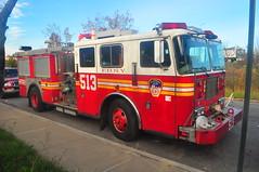 FDNY Engine 513 (Triborough) Tags: nyc newyorkcity ny newyork engine firetruck fireengine statenisland fdny seagrave rossville richmondcounty newyorkcityfiredepartment engine513