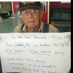 Help Cecil find his mates.   #cecilboswell #wwi #4thdivision #22ndinfantry #armyvetrans #armyvet #army #cannoncompany #gainesvillega #boswell #vetrans #military #signalboost #help (BJD Access0ruse) Tags: army military wwi help boswell vetrans gainesvillega 4thdivision 22ndinfantry cannoncompany armyvet signalboost cecilboswell armyvetrans