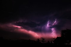 Thunderstorm, Rosendahl, Germany, 06-06-2014 (betadecay2000) Tags: storm love rain weather germany deutschland flickr outdoor flash himmel wolke beta iloveflickr thunderstorm lightning blitz gewitter thunder regen wetter münsterland weer unwetter blitze iloveflikr i granfoto