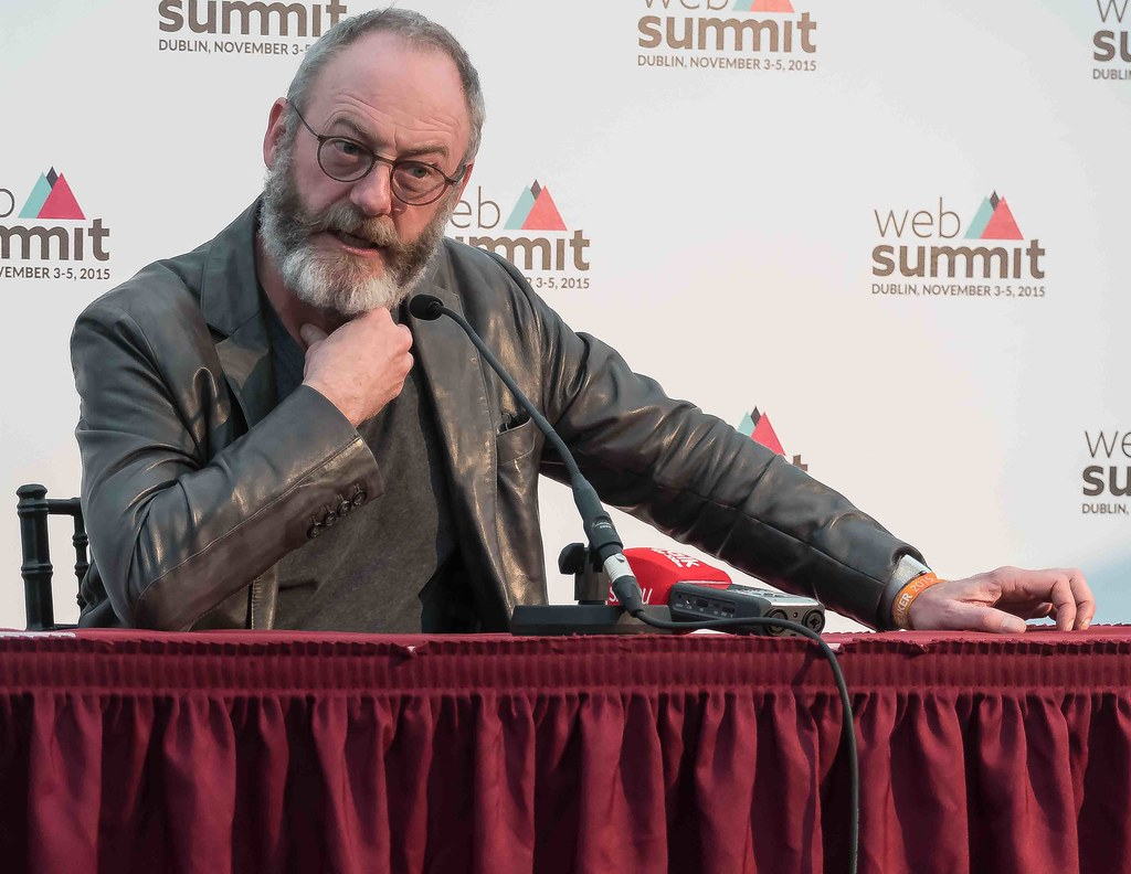WEB SUMMIT 2015 - LIAM CUNNINGHAM MEETS THE PRESS [ACTOR]-109590