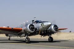 Beech 18 (14) (Indavar) Tags: plane airplane airshow chipmunk mustang albatros rand beech at6 radial an2 p51 l39 antonov dc4 dhc1 beech18 t28trojan b378