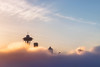 Cotton Candy Sky (Paul Weeks Photography) Tags: seattle color skyline clouds sunrise cityscape pacificnorthwest cottoncandy spaceneedle abovetheclouds burnoff