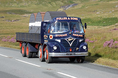 TV011568-Heart of Wales. (day 192) Tags: truck wagon lorry snowdonia now s21 lorries foden roadrun transportshow vintagelorry heartofwales a4086 transportrally classiclorry fodens21 preservedlorry gwyneed fullersons ytp753 heartofwalesrun