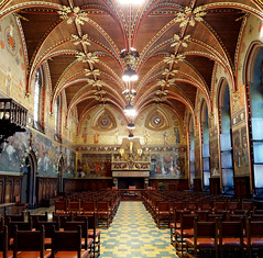 Stadhuis, Brugge (Erf-goed.be) Tags: geotagged brugge westvlaanderen stadhuis burg archeonet geo:lon=32269 geo:lat=512085 gotischezaal