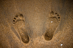 Impressions (Premnath Thirumalaisamy) Tags: beach canon foot eos 50mm sand prints impressions f18 chennai beachwalk thiruvanmiyur 550d