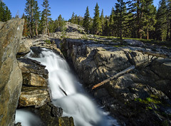 Cascade on the San Joaquin (speedcenter2001) Tags: anseladamswilderness sierranevada sierra sierraphile highsierra california mountains wilderness hiking outdoor backpacking backcountry nd1000 nikon20mmf35ai