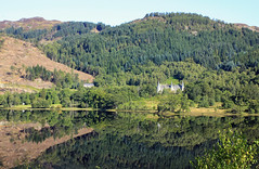 Loch Achray reflections (pct4nic) Tags: lochachray trossachs scotland hpb forest lake reflection