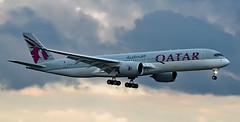 A7-ALF - Airbus A350-941 - LHR (Seán Noel O'Connell) Tags: qatarairways a7alf airbus a350941 a350 a359 heathrowairport lhr doh 09l qr001