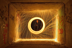 GEOMETRY (JOSE JAVIER GARCIA MARZAL) Tags: fotografíanocturna nightphotography largaexposición longexposure pinturaconluz lightpainting lanadeacero steelwool valencia spain nikond610 nikkor1424f28