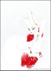 White Christmas (etherasfox) Tags: etheras orphensirius orphen sirius merrychristmas merry christmas happyholiday happy holiday holidays happyholidays snowstorm snow storm blizzard whiteout whitechristmas snowfall fall pose posing sexy slim slender fennec fox fennecfox vulpine foxboy foxboi male femboi femboy fem boi boy prettyboi prettyboy fairy twink trap