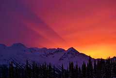 Fresh Tracks (nic_r) Tags: whistler canada mountain mountains sunrise morning sky colours nikon d5100 landscape nature beautiful 2016 bestof2016