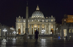 ... the silence of a prayer (M.a.r.t.Y) Tags: rome prayer vatican alone color canon 5dmarkiii picture