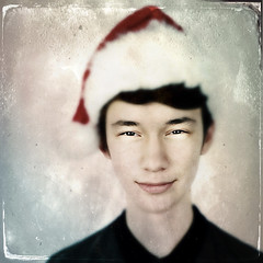 A Tintype Christmas (gimmeocean) Tags: iphoneography iphonenography apple iphone iphone6 snapseed tintype