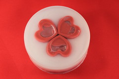 Hearts in Circle $4.00 (Clelian Heights) Tags: clelianheights cleliancenter cleliansoaps sheabuttersoap unscented valentinesday heart
