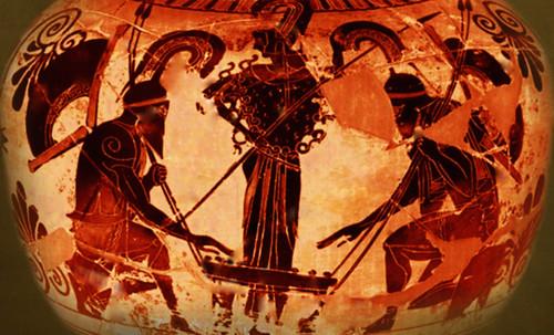 "Petteia - Ludus Latrunculorum  / Iconografía de las civilizaciones helenolatinas • <a style=""font-size:0.8em;"" href=""http://www.flickr.com/photos/30735181@N00/31710163683/"" target=""_blank"">View on Flickr</a>"