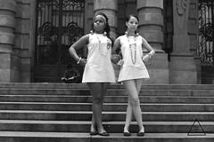 Retrofuturism (Polly (Family.Inc)) Tags: bw twiggy retro retrofuturism blackandwhite black white fashion brazil sãopaulo