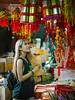 Chinese New Year is coming... (Kompakin Borwornpakramil) Tags: olympus em1 markii portrait girls beautiful เยาวราชchinatown bangkok thailand zuikodigitaled25mmf12 chinesenewyear moodandatmosphere